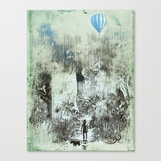 little explorers Canvas Print