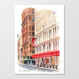 The Strand II Canvas Print