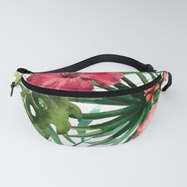 FLOWERS WATERCOLOR 8 Fanny Pack