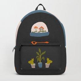 Minimalist Teenage Bedroom Flash Sheet Backpack