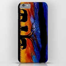Sunset Elephants Slim Case iPhone 6 Plus