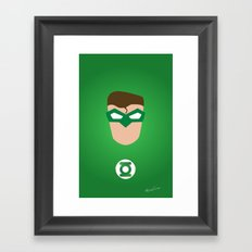 GREEN LANTERN Framed Art Print