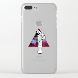 triangle astro Clear iPhone Case
