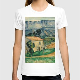 """Paul Cezanne """"House in Provence"""" T-shirt"""