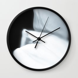 Caressing spring Wall Clock