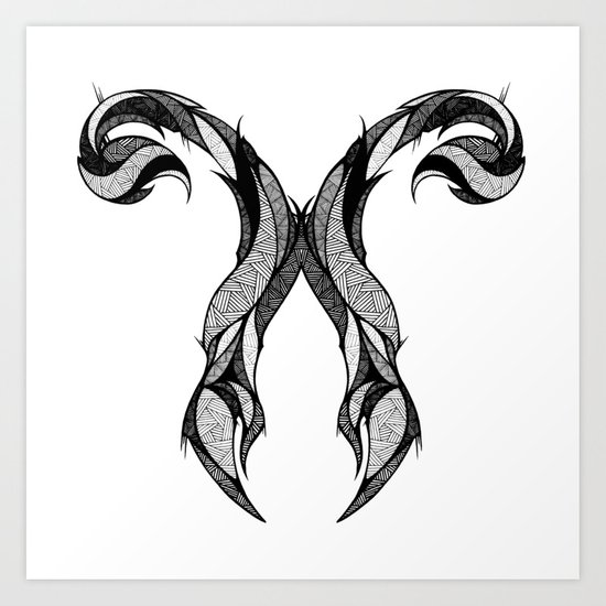 Signs of the Zodiac - Scorpius Art Print