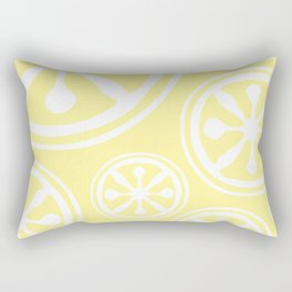 Atomic Citrus Rectangular Pillow