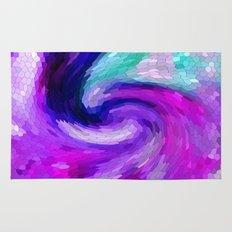 lilic swirl Rug