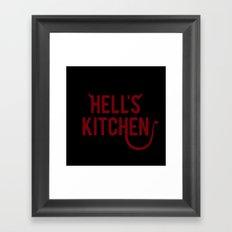 Devil of Hell's Kitchen Framed Art Print