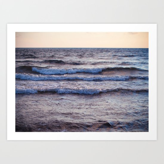 the sound of the sea Art Print