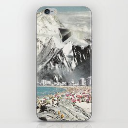 magnetic winter iPhone Skin