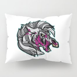 Zombie Zebra - Halloween Horror Pillow Sham