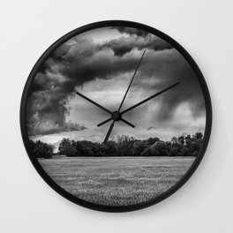 After the Storm 3 Wall Clock