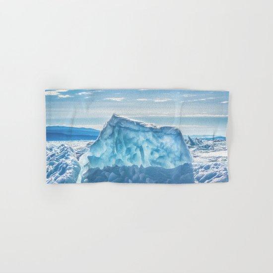 Pressure ridge of lake Baikal Hand & Bath Towel