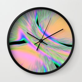 Re-Created  Aurora XI by Robert S. Lee Wall Clock