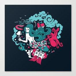 Rêve marin Canvas Print