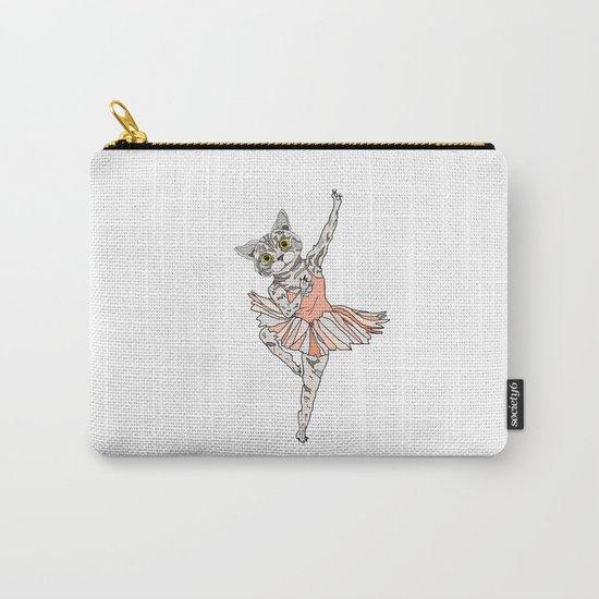 Cat Ballerina Tutu Carry-All Pouch