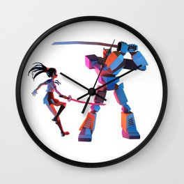CheckiO anime Wall Clock