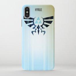 The Legend of Zelda - Hyrule Rising Poster iPhone Case