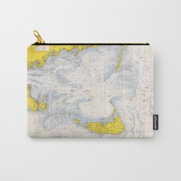 Vintage Map of The Nantucket Sound (1966) Carry-All Pouch