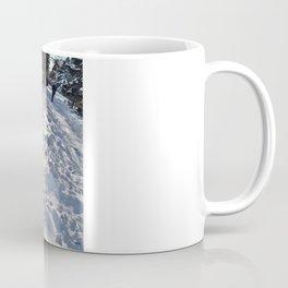Winter in park Coffee Mug