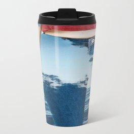 jeans Metal Travel Mug
