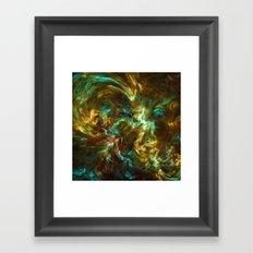 Fractal Space Framed Art Print
