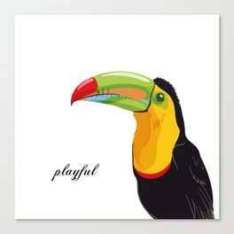Playful Canvas Print
