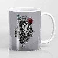 gypsy Mugs featuring gypsy by Erdogan Ulker