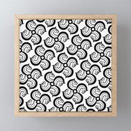Horse Wheel Framed Mini Art Print