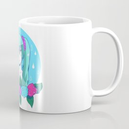 Hatsune Miku and Hydrangeas Coffee Mug