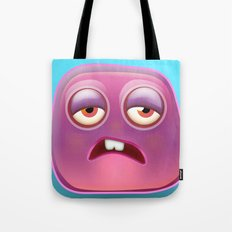 Glutton Jelly Monster  Tote Bag