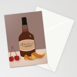 Old Fashioned Whiskey  Stationery Cards