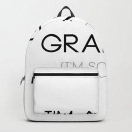 Funny Grandpa For Men - I'm A Golf Grandpa Backpack