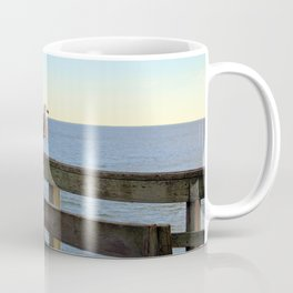 Perched On The Pier Coffee Mug