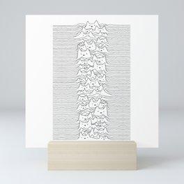 Furr Division White Mini Art Print