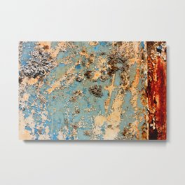 Rusted Train Metal Print