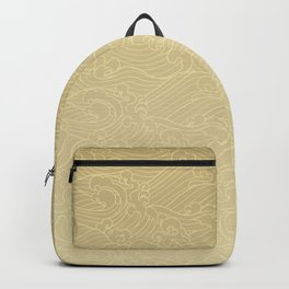 Light Waves in Golden Backpack