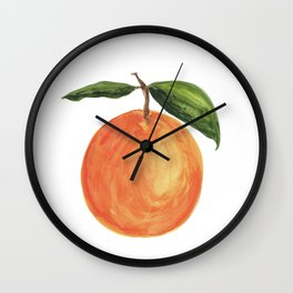 clementine. Wall Clock