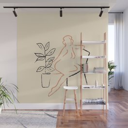 Nude Line Wall Mural