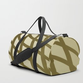 Sepia swing lines Duffle Bag