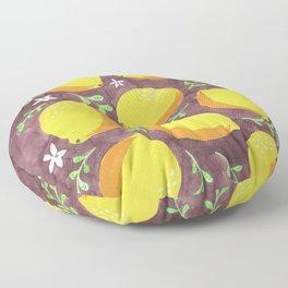 Lemons Floor Pillow