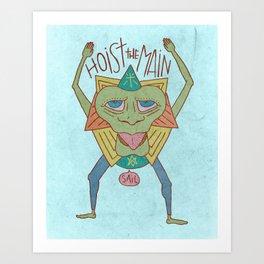 SAIL POOT Art Print