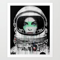 new order Art Prints featuring New Order by LouiJoverArt