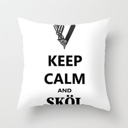 SKÖL Throw Pillow