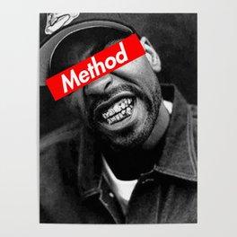 METHOD MAN WU TANG DESIGN Poster