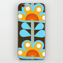 swedish flowers iPhone Skin