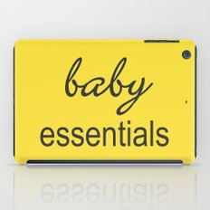 Baby Essentials Pantone 2016-Buttercup iPad Case