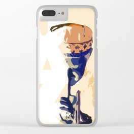 Jazz Poster Clear iPhone Case