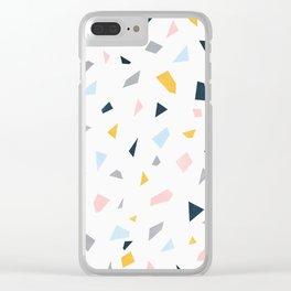Terazzo Clear iPhone Case
